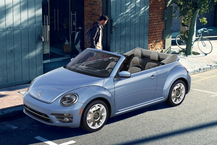 final beetle 2018 VW convertible