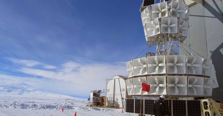 Abnormal Particles Flying Up from Antarctica Leave Scientists Puzzled
