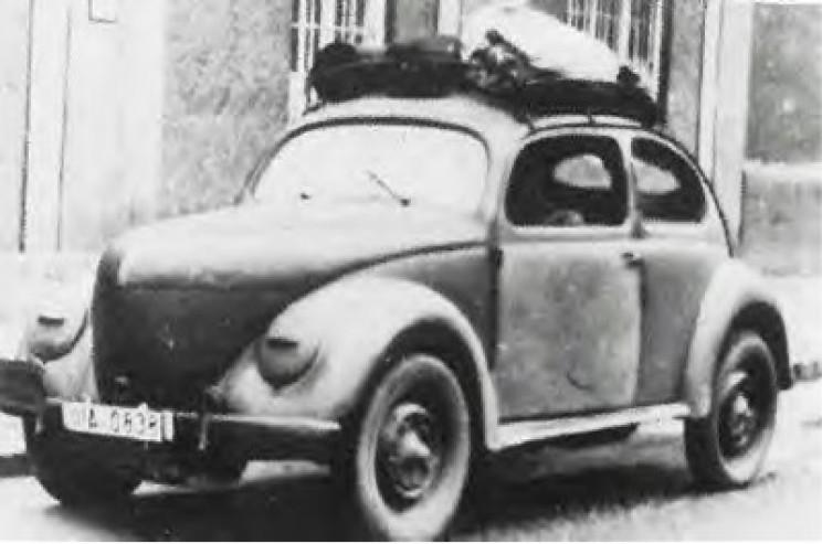 VW Beetle wood powered