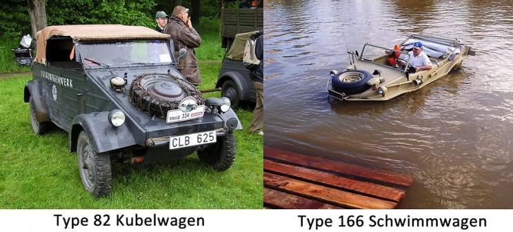 VW Beetle WW2 models