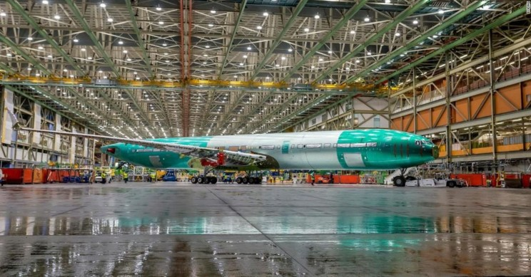 Boeing Reveals First Completed 777X Plane With World's Largest Twin-Engine Jet
