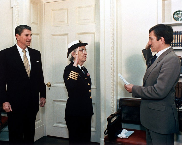 Grace Hopper's promotion to Commodore