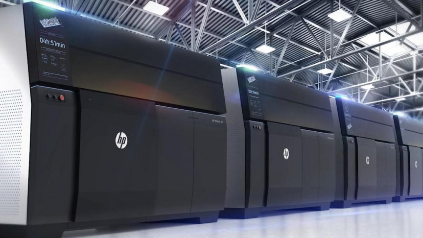 HP's New Metal 3D Printing Platform Could Revolutionize Auto Industry