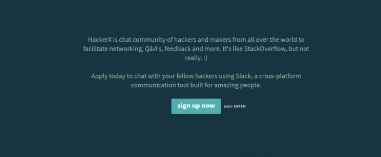 HackerX Slack Community
