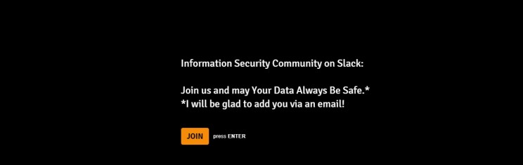 Infosec Community Slack