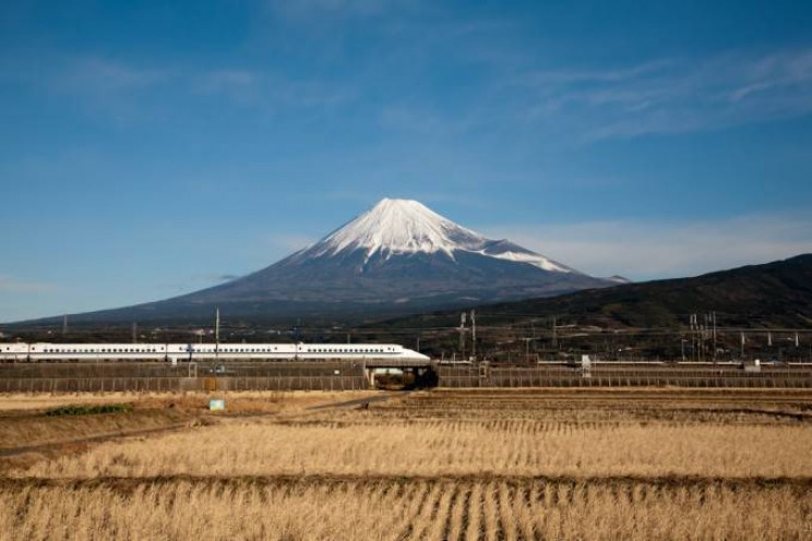 Japan is the future bullet train