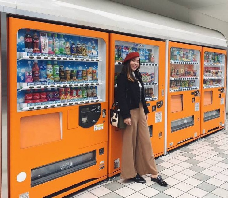 Japan is the future vending machines