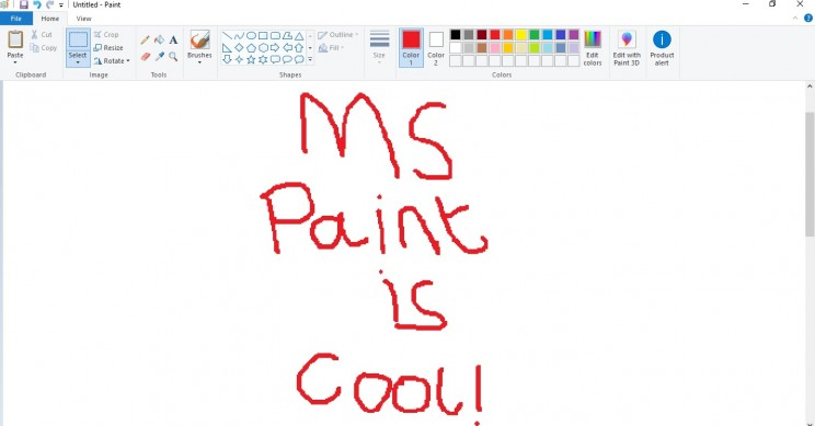 mind mapping ms paint