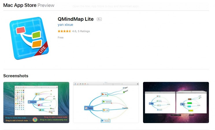 mind mapping mac app store