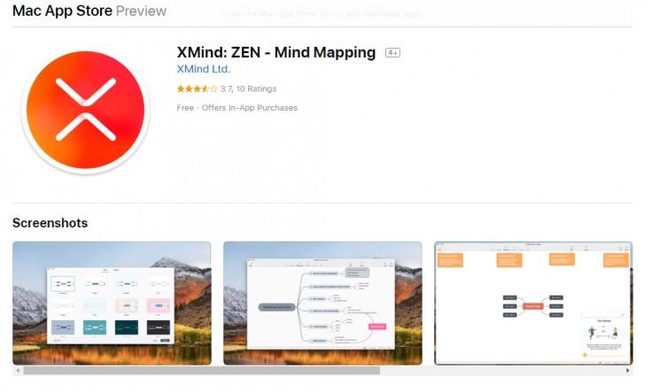mind mapping XMind Zen