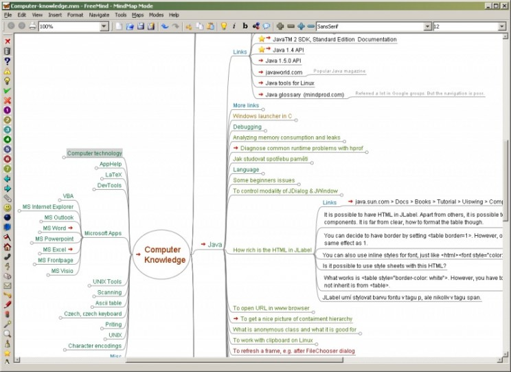 mind mapping freemind windwos