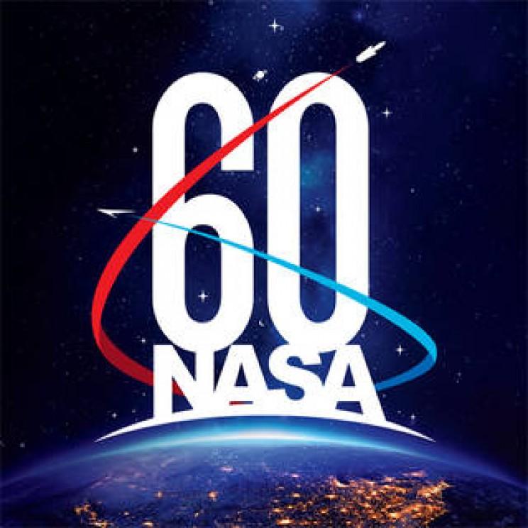 NASA History 60th Anniversary logo