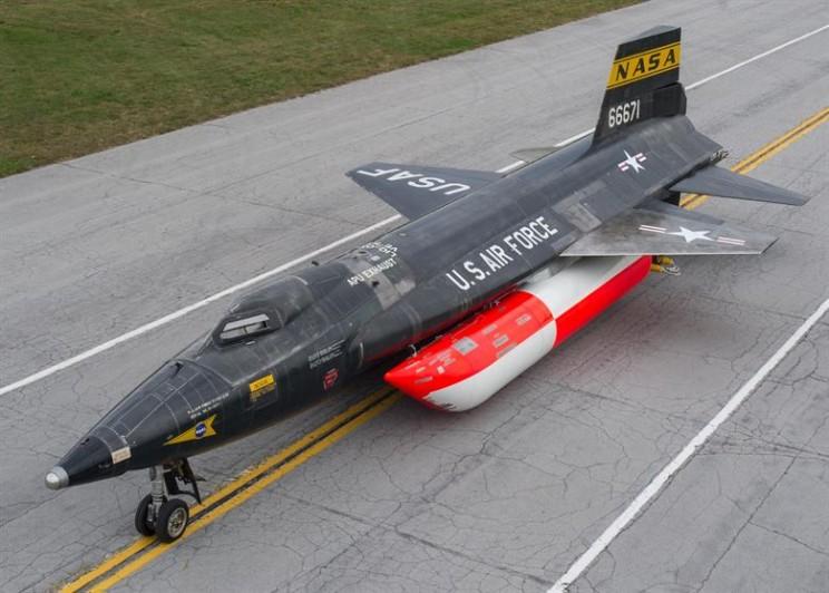 NASA history X-15