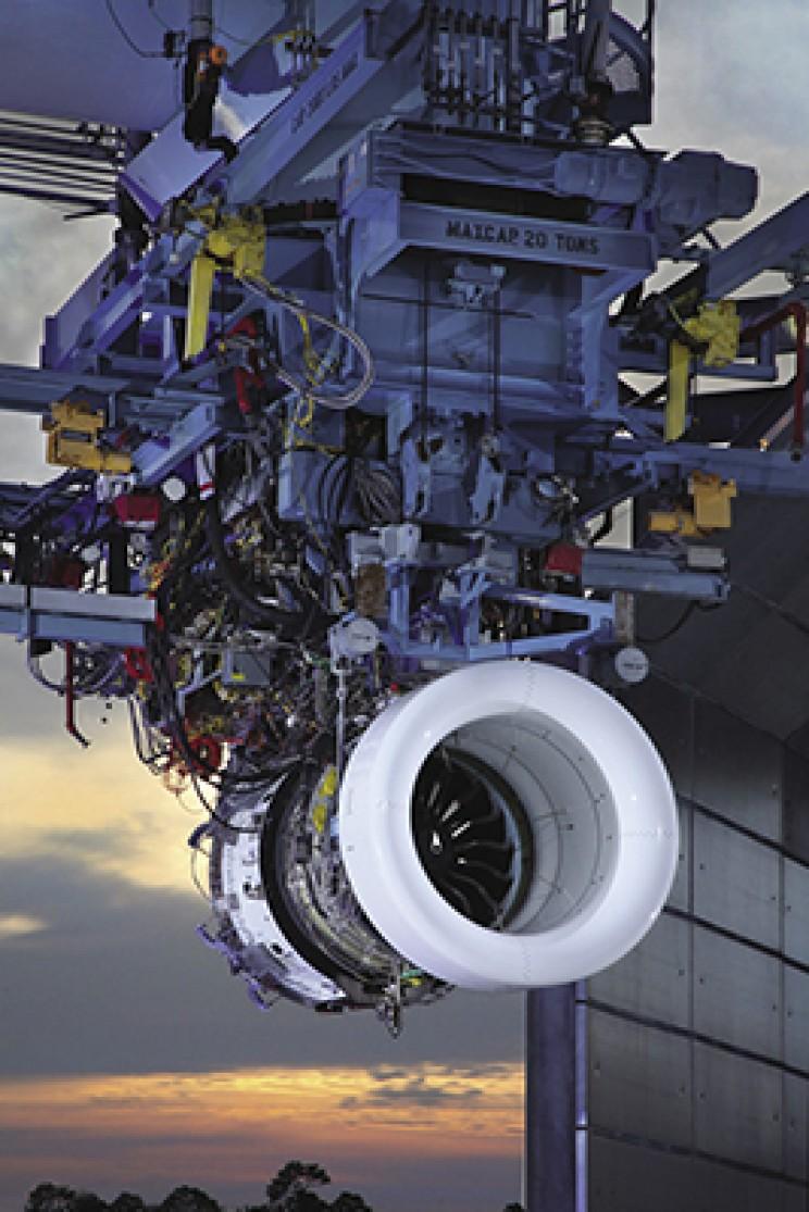 NASA spinoff Geared Turbofan Engine