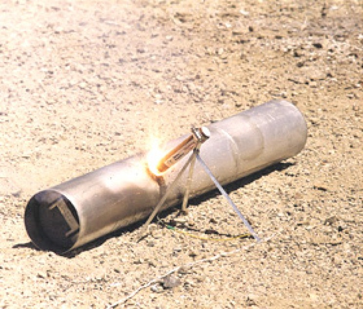 NASA spinoffs landmine disposal flares