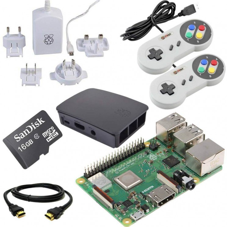 Retro Gaming Bundle Raspberry Pi Kit