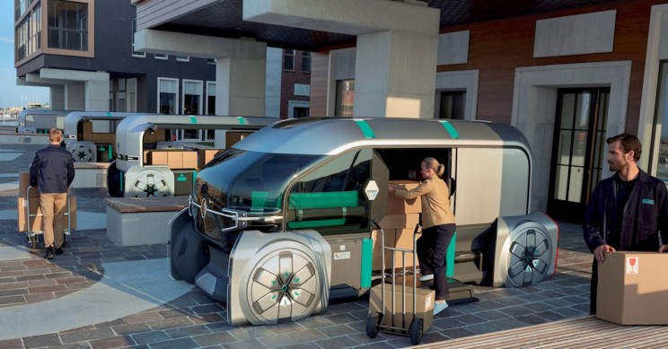 Renault Rethinks Last Mile Delivery with Fleet of Autonomous Pods