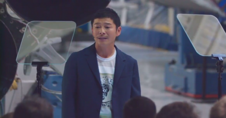 Japanese Executive Yusaku Maezawa Will Be First Passenger for SpaceX Trip to the Moon