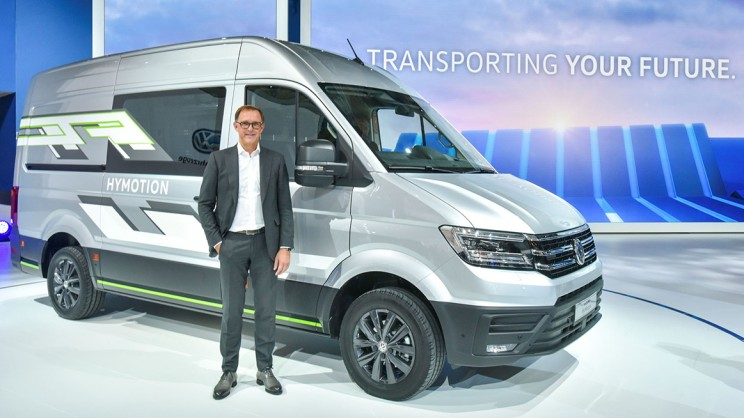 Volkswagen Unveils New Range of All-Electric Commercial Vehicles