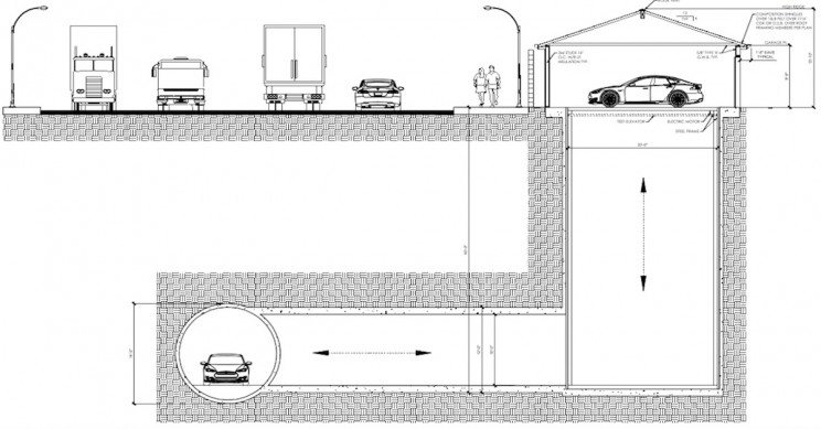 Boring Company Will Build A Garage That Connects to Underground Tunnel