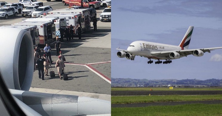 Emirates Plane Quarantined in JFK After Passengers Mysteriously Become Sick