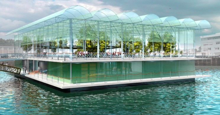 World's First Floating Dairy Farm Is Set to Open in the Netherlands