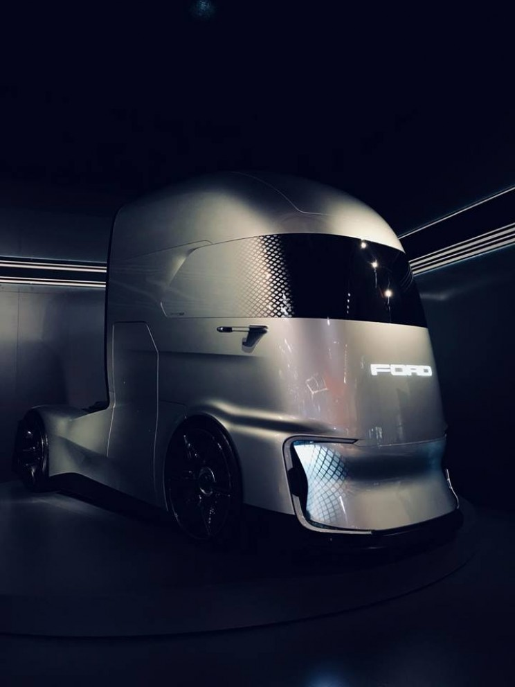 Ford F-Vision autonomous self-driving electric truck