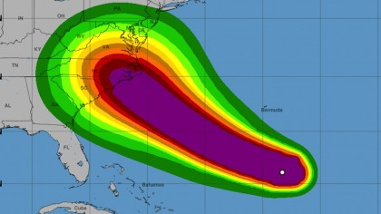Category 4 Hurricane Florence Quickly Heads Toward Eastern United States