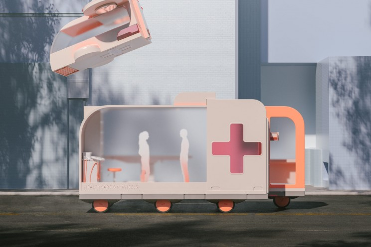 ikea space10 spaces on wheels self-driving cars hospital healthcare