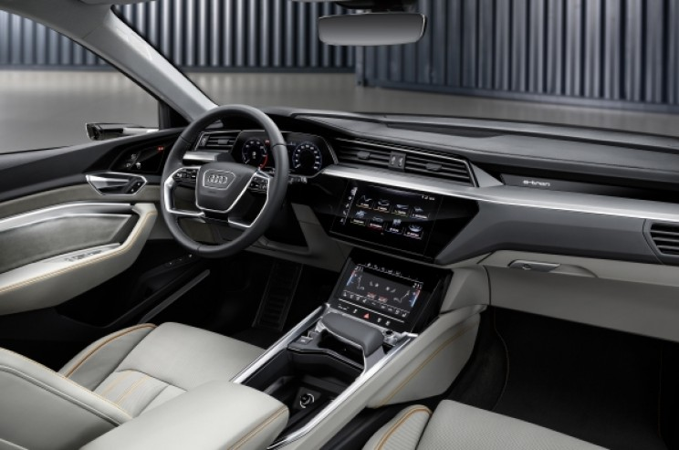 Audi Unveils All-Electric e-tron SUV to Compete with Tesla Model X