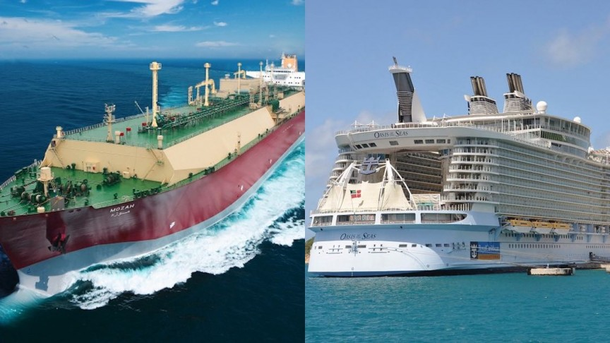 9 of the World's Largest Ships