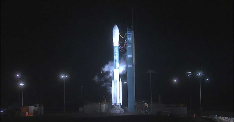 NASA Launches Ice-Monitoring Laser to Space on Delta II's Final Flight
