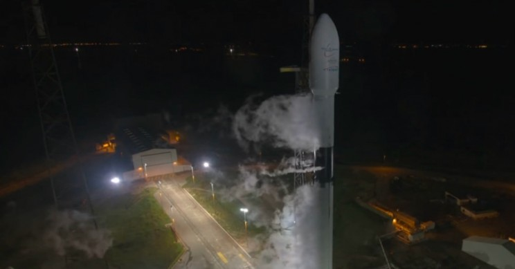 SpaceX Successfully Launches Falcon 9 Rocket with Telstar Communications Satellite