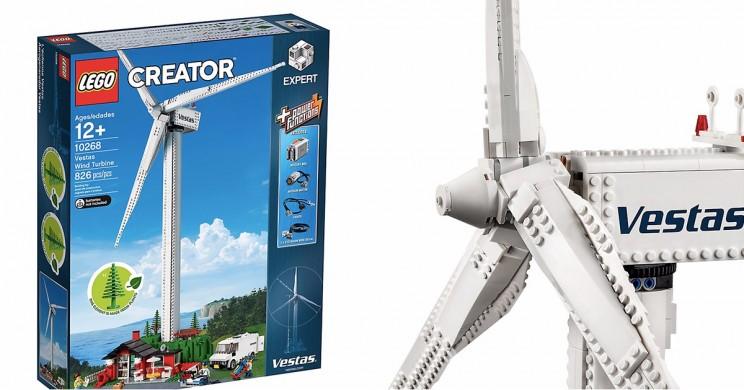 Lego Launches Functioning Sustainable Wind Turbine