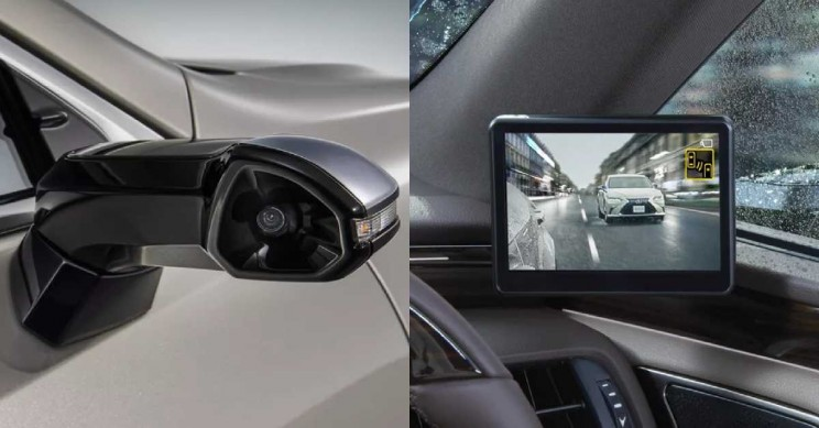 World's First Digital Side-View Monitors Unveiled by Lexus