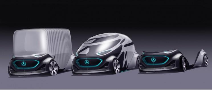 Mercedes-Benz Unveils Vision Urbanetic: A Revolutionary Autonomous Van Concept