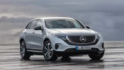 Mercedes-Benz Shows Off Electric SUV to Rival Tesla