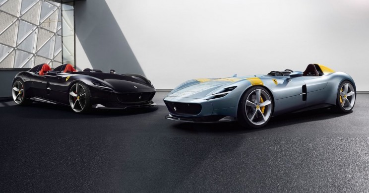 Ferrari Unveils Exclusive 50s-Inspired Monzas With Most Powerful V12 Engine