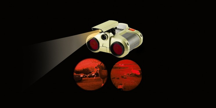 Channel Your Inner Spy with These Night Vision Binoculars