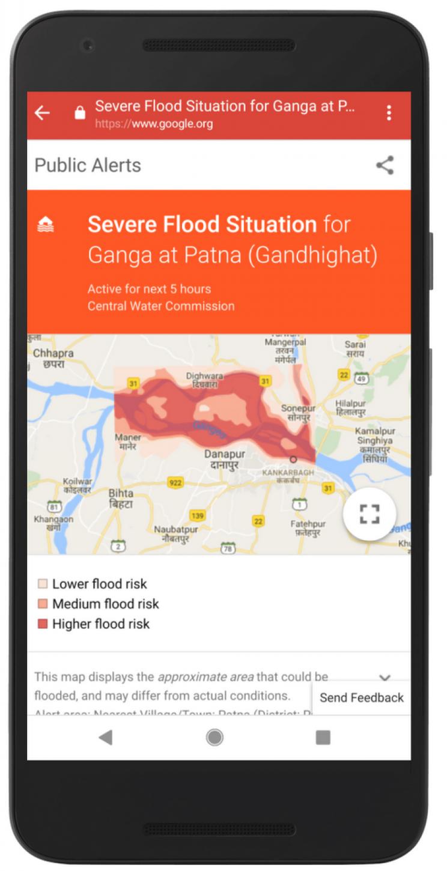 Google AI floods India