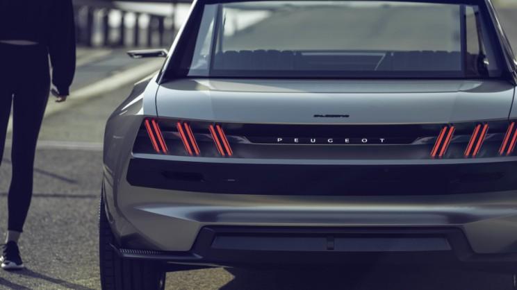 Peugeot e-Legend Electric Car Concept