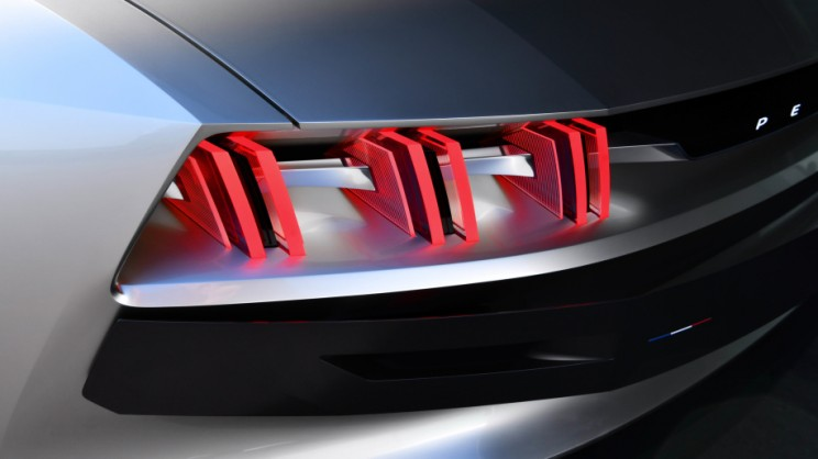 Peugeot e-Legend exterior back