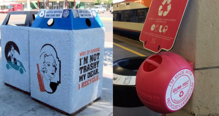 17 of the Most Creative Recycling Bins and Devices