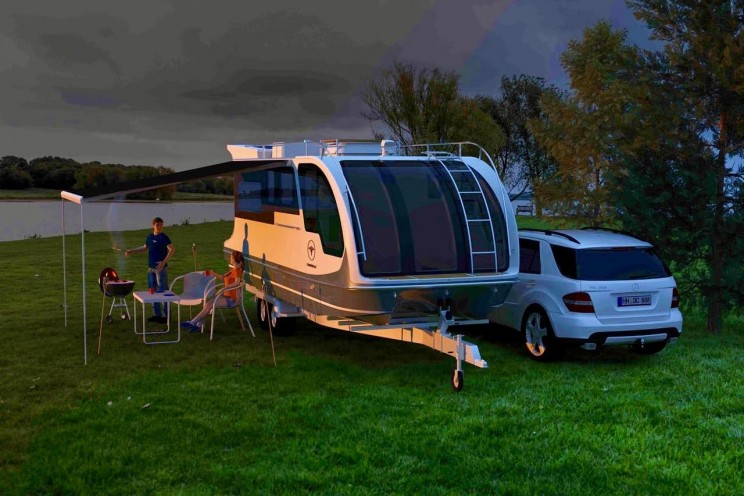 This Awesome RV is Both a Caravan And a Boat