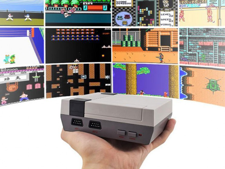 This Retro Gaming Console Comes Loaded with Over 600 Games