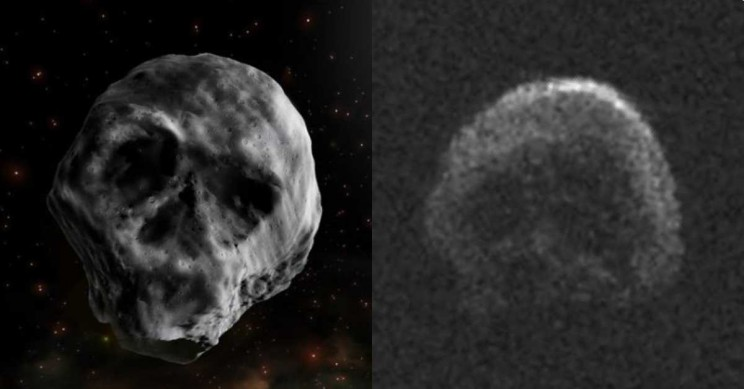 Skull-Like Death Comet to Pass by Earth Just Days After Halloween