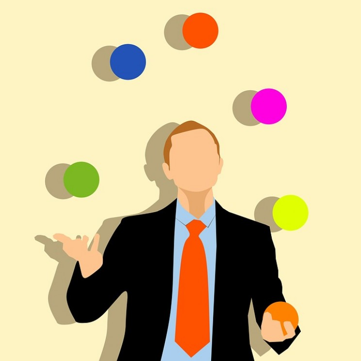task management juggling