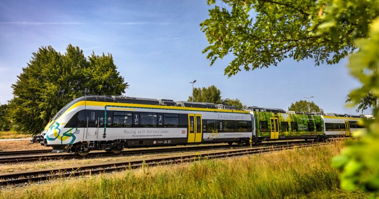 First Battery-Powered Train in Europe in Over 60 Years Takes Maiden Trip