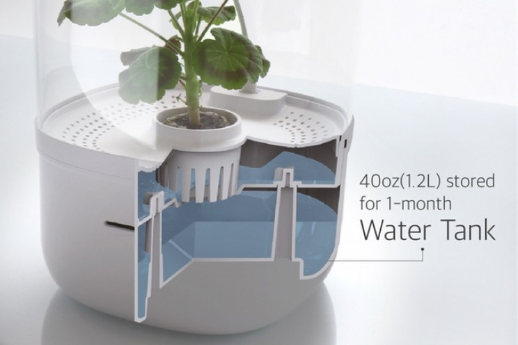 This Smart Indoor Planter Will Get You Closer to Nature