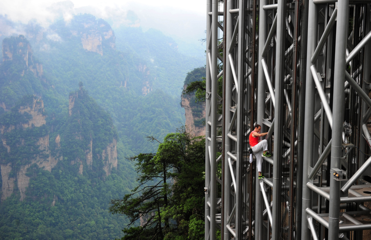 Bailong Elevator: Would You Dare Ride This Insanely Tall Outdoor Lift?